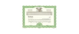 Stock Certificates, KG2, Goes Certificates, Goes King KG2