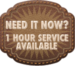 One Hour Service Available