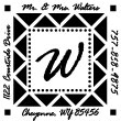 Specialty Stamps, Monogram Stamps, Art Stamps